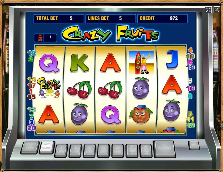 fruits онлайн бесплатно игровые автоматы crazy