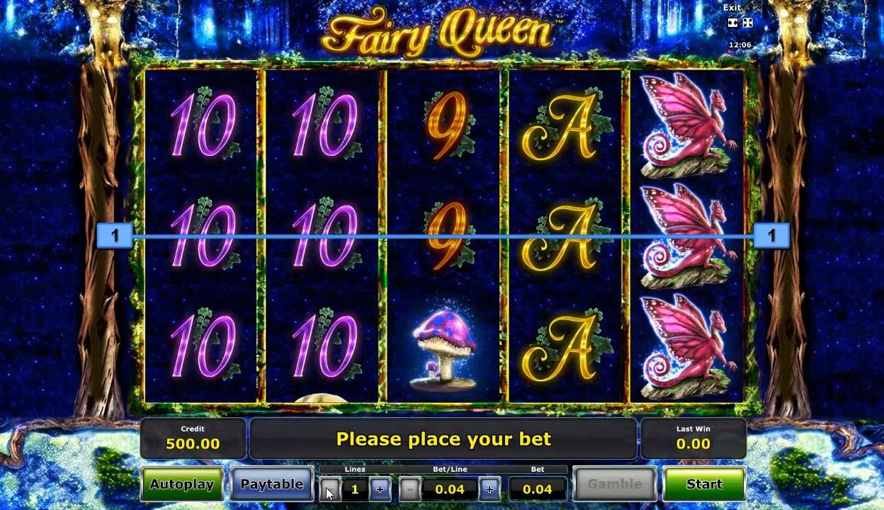 Онлайн игровой автомат fairy queen танки онлайн