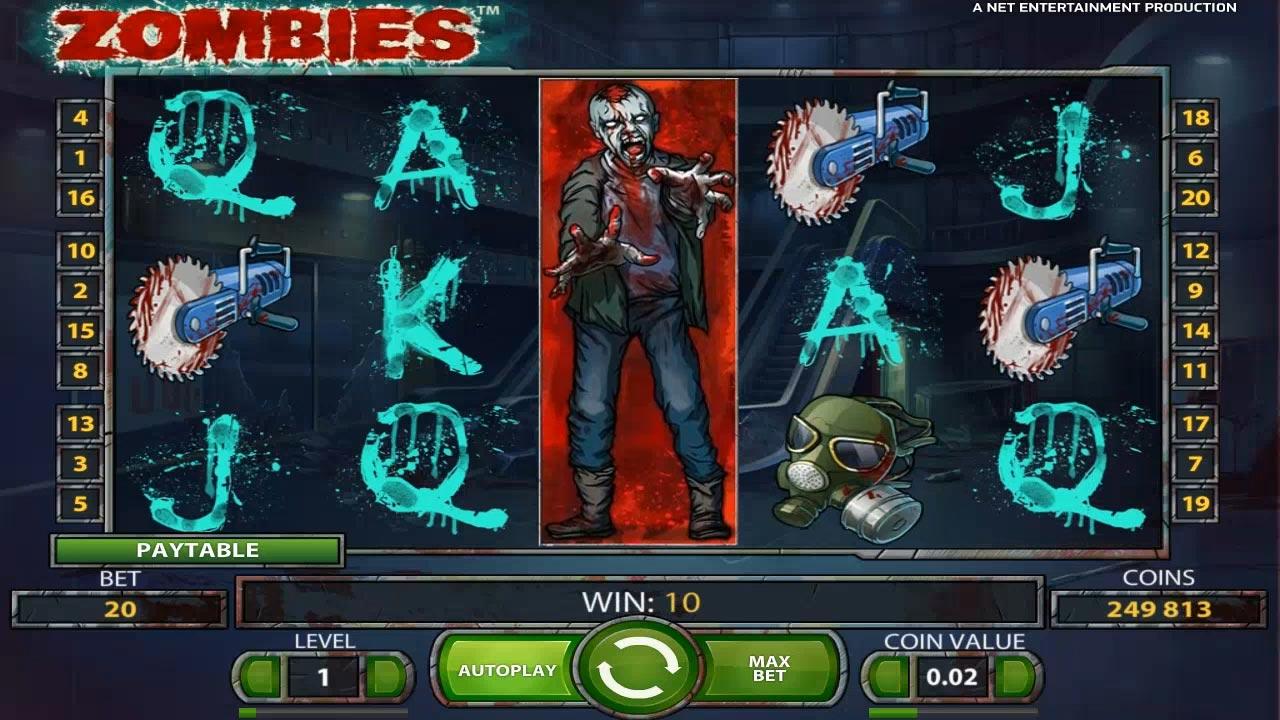 игровой автомат зомби играть онлайн бесплатно